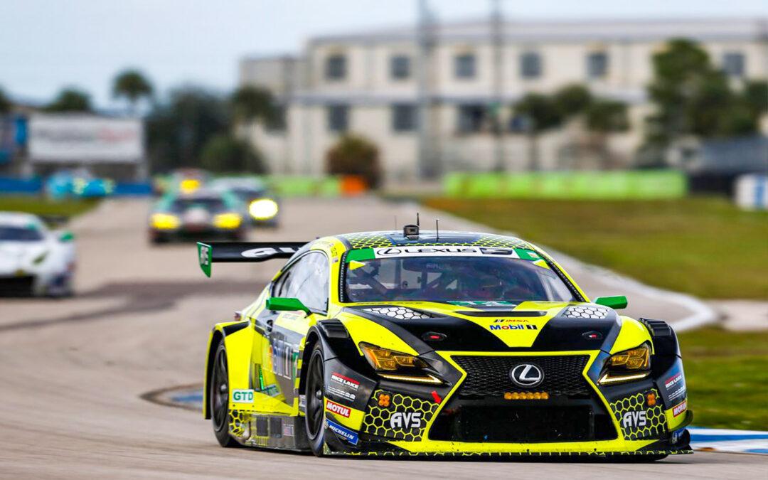 """AVS Autosport """"Struck By Lightening"""" in Unlucky Sebring Hit"""