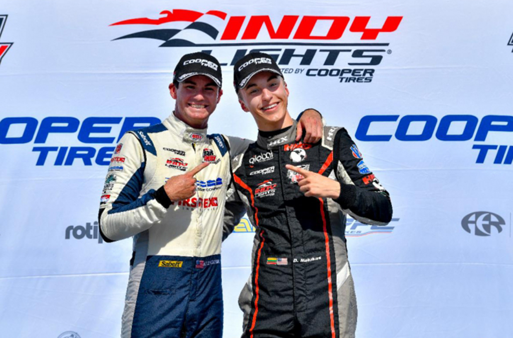 MALUKAS, KIRKWOOD CONTINUE Indy Lights CHAMPIONSHIP FIGHT