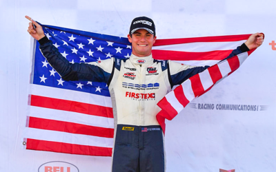 KIRKWOOD CLOSES ON INDY LIGHTS TITLE WITH FOURTH CONSECUTIVE WIN